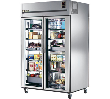 True STA2RPT-2G-2S 56 Cu Ft Pass-Thru Two-Section Refrigerator