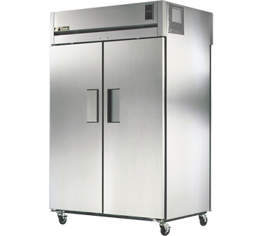 True STA2RPT-2S-2G 56 Cu Ft Pass-Thru Two-Section Refrigerator