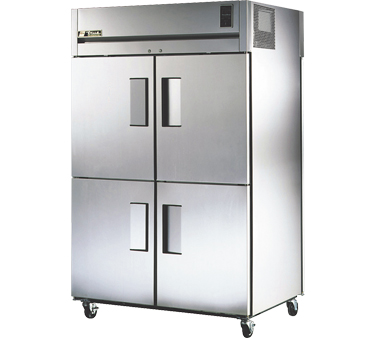 True STA2RPT-4HS-2G 56 Cu Ft Pass-Thru Two-Section Refrigerator