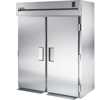 True STA2RRI89-2S 80 Cu Ft Roll-In Two-Section Refrigerator
