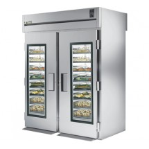 True STA2RRT-2G-2S 75 Cu Ft Roll In Two-Section Refrigerator