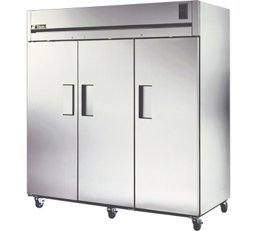 True STA3F-3S 85 Cu Ft Reach-In Three-Section Freezer