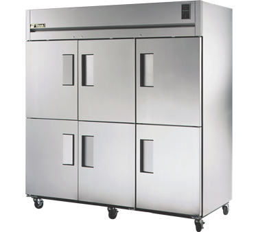 True STA3F-6HS 85 Cu Ft Reach-In Three-Section Freezer