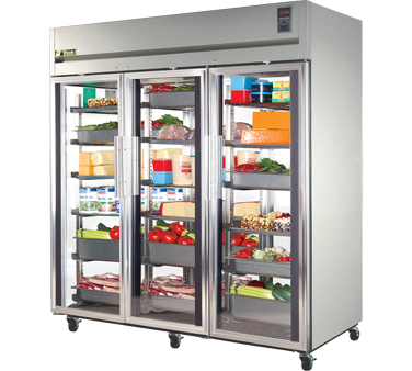 True STA3R-3G 85 Cu Ft Reach-In Three-Section Refrigerator