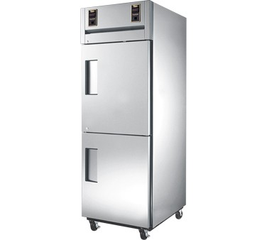 True STG1DT-2HS 13 cu ft / 13 Cu Ft Dual Temp Reach-In One-Section Refrigerator / Freezer