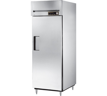 True STG1H-1S 31 Cu Ft Reach In One-Section Solid Door Heated Cabinet