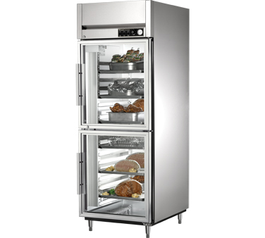 True STG1H-2HG 31 Cu Ft Reach In One-Section Heated Cabinet