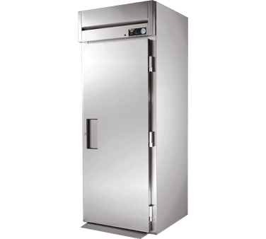 True STG1HRI89-1S 38 Cu Ft Roll In One-Section Solid Door Heated Cabinet