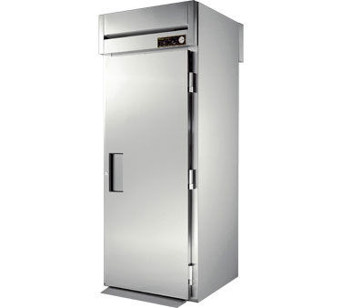 True STG1HRT-1S-1S 37 Cu Ft Roll In One-Section Solid Door Heated Cabinet