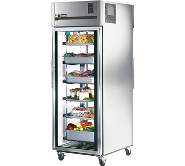 True STG1RPT-1G-1G 31 Cu Ft Pass-Thru One-Section Refrigerator