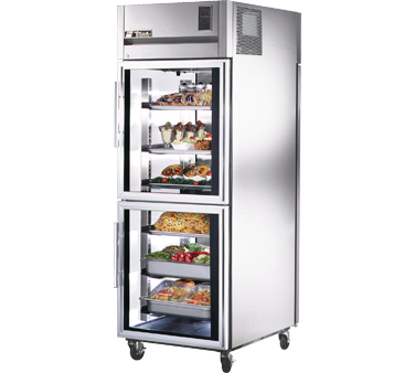 True STG1RPT-2HG-1S 31 Cu Ft Pass-Thru One-Section Refrigerator