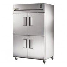 True STG2F-4HS 56 Cu Ft Reach-In Two-Section Freezer