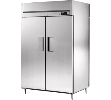 True STG2HPT-2S-2S 56 Cu Ft Pass-Thru Solid Door Heated Cabinet