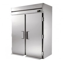 True STG2HRI-2S 75 Cu Ft Roll In Two-Section Solid Door Heated Cabinet