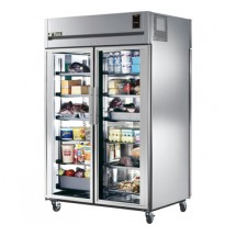 True STG2RPT-2G-2S 56 Cu Ft Pass-Thru Two-Section Refrigerator