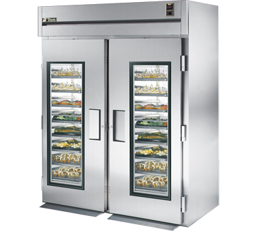 True STG2RRI-2G 75 Cu Ft Roll-In Two-Section Refrigerator