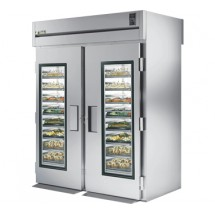 True STG2RRT-2G-2S 75 Cu Ft Roll In Two-Section Refrigerator