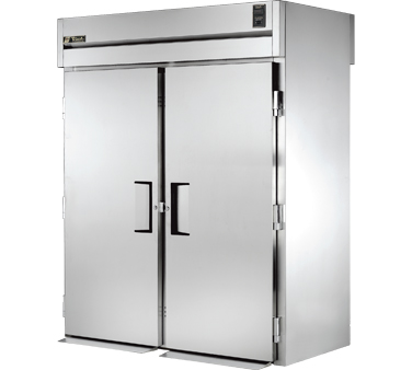 True STG2RRT-2S-2S 75 Cu Ft Roll In Two-Section Refrigerator