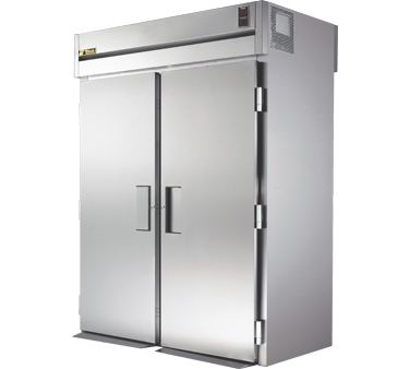 True STG2RRT89-2S-2S 80 Cu Ft Roll In Two-Section Refrigerator