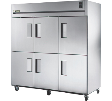 True STG3F-6HS 85 Cu Ft Reach-In Three-Section Freezer