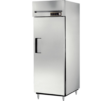True STR1H-1S 31 Cu Ft Reach In One-Section Solid Door Heated Cabinet