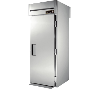 True STR1HRT89-1S-1S 38 Cu Ft  Roll In One-Section Solid Door Heated Cabinet