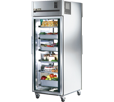 True STR1RPT-1G-1G 31 Cu Ft Pass-Thru One-Section Refrigerator
