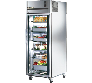True STR1RPT-1G-1S 31 Cu Ft Pass-Thru One-Section Refrigerator