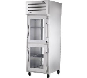 True STR1RPT-2HG-1G 31 Cu Ft Pass-Thru One-Section Refrigerator