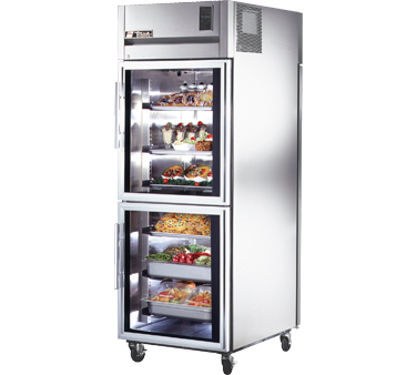 True STR1RPT-2HG-1S 31 Cu Ft Pass-Thru One-Section Refrigerator
