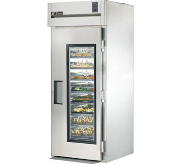 True STR1RRI-1G 37 Cu Ft Roll-In One-Section Refrigerator