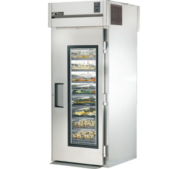True STR1RRT-1G-1S 37 Cu Ft Roll In One-Section Refrigerator