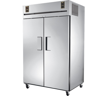 True STR2DT-2S 26 cu ft / 24 Cu Ft Dual Temp Reach-In Two-Section Refrigerator / Freezer