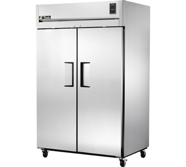 True STR2F-2S 56 Cu Ft Reach-In Two-Section Freezer