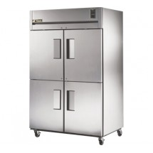 True STR2F-4HS 56 Cu Ft Reach-In Two-Section Freezer