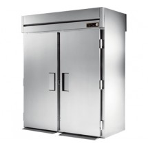True STR2HRT-2S-2S 75 Cu Ft Roll In Two-Section Solid Door Heated Cabinet
