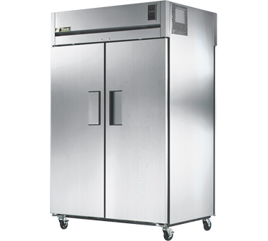 True STR2RPT-2S-2G 56 Cu Ft Pass-Thru Two-Section Refrigerator