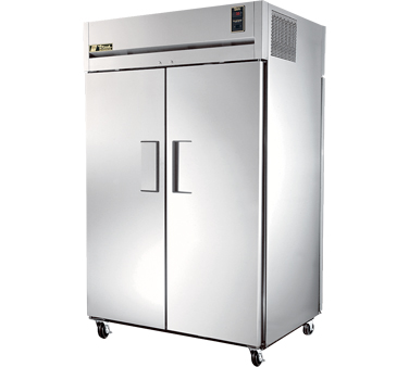 True STR2RPT-2S-2S 56 Cu Ft Pass-Thru Two-Section Refrigerator