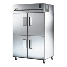 True STR2RPT-4HS-2G 56 Cu Ft Pass-Thru Two-Section Refrigerator