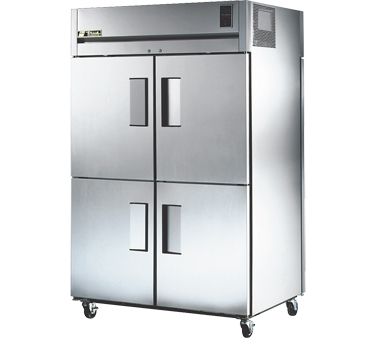 True STR2RPT-4HS-2S 56 Cu Ft Pass-Thru Two-Section Refrigerator