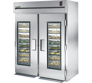 True STR2RRI-2G 75 Cu Ft Roll-In Two-Section Refrigerator