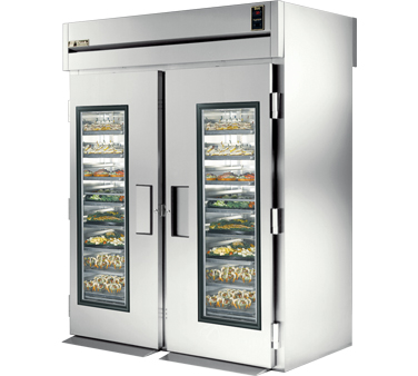 True STR2RRT-2G-2S 75 Cu Ft Roll In Two-Section Refrigerator