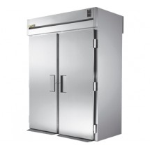 True STR2RRT89-2S-2S 80 Cu Ft Roll In Two-Section Refrigerator