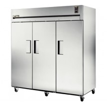 True STR3F-3S 85 Cu Ft Reach-In Three-Section Freezer