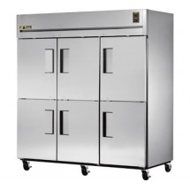 True STR3R-6HS 85 Cu Ft Reach-In Three-Section Refrigerator