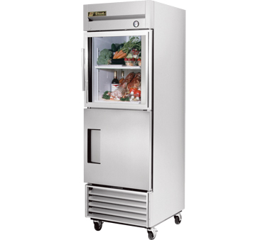 True T-23-1-G-1 23 Cu Ft Reach-In One-Section Refrigerator