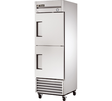 True T-23-2 23 Cu Ft Reach-In One-Section Refrigerator