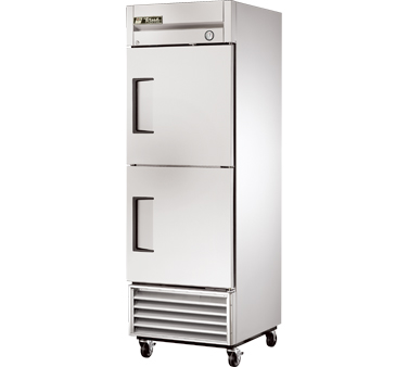 True T-23F-2 23 Cu Ft Reach-In One-Section Freezer