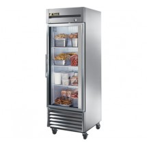 True T-23FG 23 Cu Ft Reach-In One-Section Glass Door Freezer