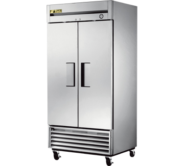 True T-35 35 Cu Ft Reach-In Two-Section Refrigerator